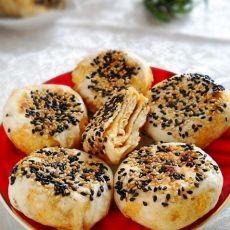 香辣芝麻烧饼
