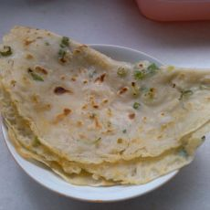 葱香煎面饼