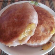紫薯香蕉饼