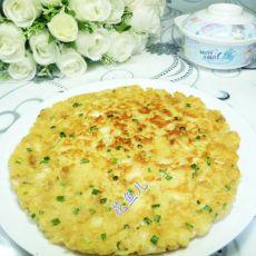 鸡蛋馒头煎饼的做法