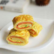火腿鸡蛋饼DIY
