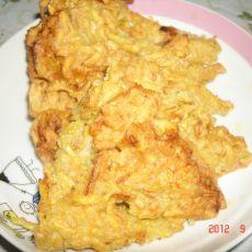 鸡蛋地瓜甜饼的做法