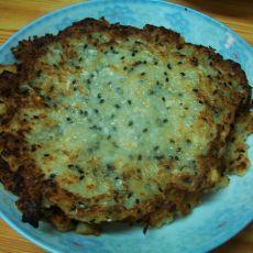 黑芝麻萝卜煎饼