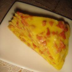 香肠鸡蛋饼