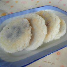 紫薯米饼的做法