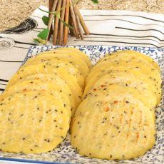 芝麻玉米饼