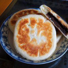 奶香红豆沙发面小饼的做法
