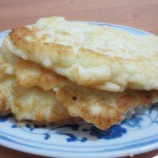米饭鸡蛋煎饼的做法