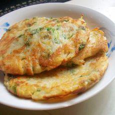 芹菜土豆饼