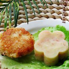 洋葱火腿土豆饼(两种吃法)的做法