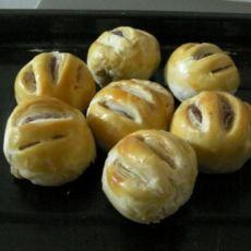 豆沙老婆饼
