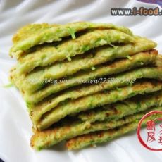 西葫芦丝饼