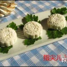桂花葡萄干山药饼的做法