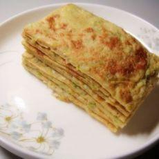 营养早餐--芹菜鸡蛋饼