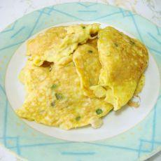 金针菇蛋饼