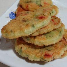 蔬菜火腿煎饼