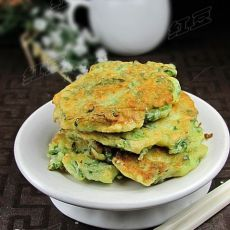 芹菜叶土豆饼