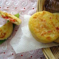 西红柿鸡蛋馅饼