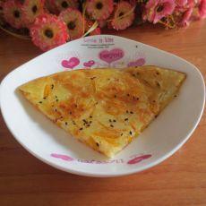 南瓜丝煎饼