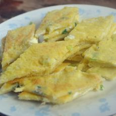 土豆丝鸡蛋饼