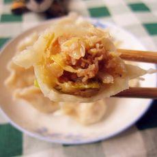 酸菜猪肉饺子