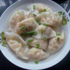 【中秋】自制虾仁水饺的做法