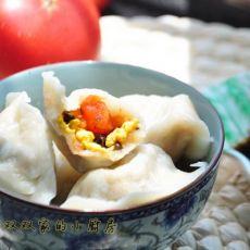 西红柿鸡蛋饺
