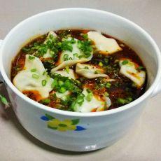红油水饺的做法