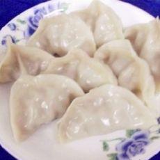 羊肉金针菇饺子