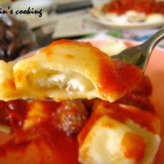 香肠意式方饺