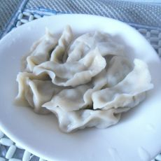 青椒猪肉水饺