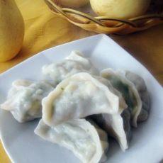 荠菜香菇素水饺