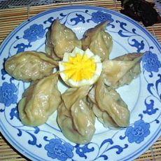 包菜馅的蒸饺的做法