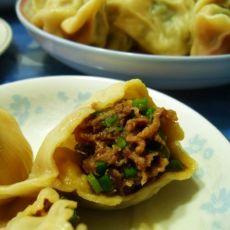 豆角猪肉水饺的做法