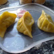 彩色牛肉香菇饺子
