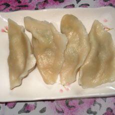 鸡肉青椒水饺的做法