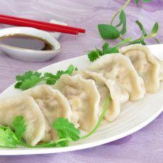 豌豆玉米猪肉饺