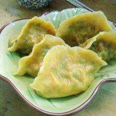 芹菜胡萝卜猪肉水饺的做法