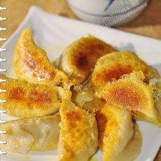 白菜胡萝卜猪肉煎饺