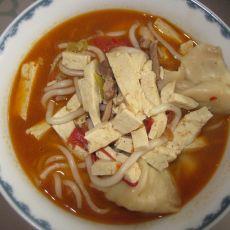 家常汆饺子