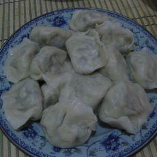 荠菜豆腐水饺的做法