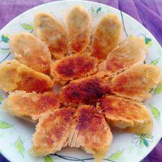 鲜肉冰花煎饺