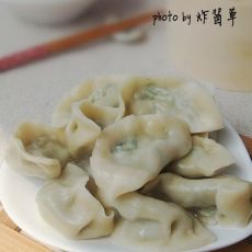三鲜荠菜饺子