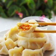 胡萝卜鸡蛋饺子的做法