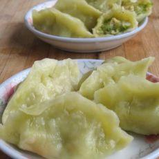西葫芦鸡蛋虾皮蒸饺