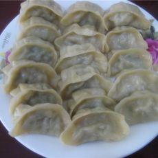 芹菜馅蒸饺