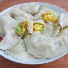 青瓜鸡蛋饺子