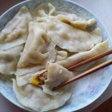 玉米红萝卜猪肉水饺