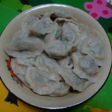 蒜苗肉馅水饺的做法
