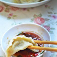 茄子猪肉水饺